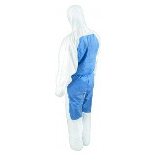 CoverStar ® Chemieschutzoverall CS550, weiß-blau