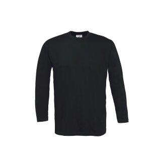 T-Shirt B & C, Rundhals, 100 % BW, ca. 150 gr/qm, langarm
