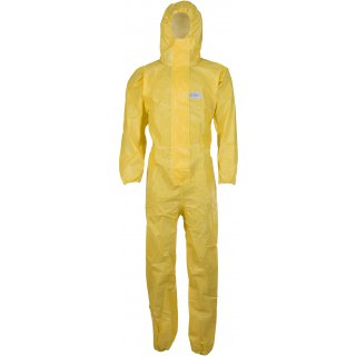 CoverChem ® Chemieschutzoverall gelb, Kat. 3, Typ 3 - 6