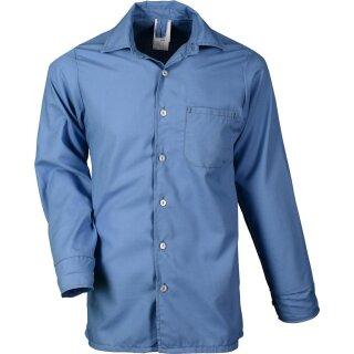 Flammschutz-Hemden - Farbe: hellblau-melange