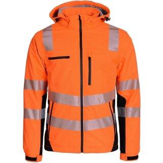Warnschutz-Softshell Parka Prevent® Trendline Premium, orange,