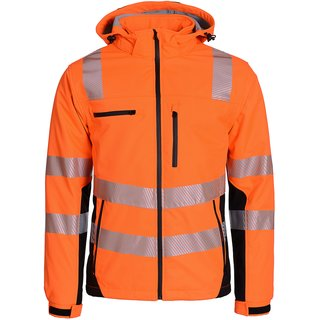 Warnschutz-Softshell Parka Prevent® Trendline Premium, orange,