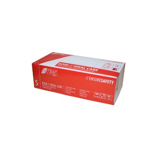 Einweghandschuh Latex ungepudert, Box à 100 Stück