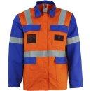 Bundjacke Multinorm (RWE) Orange/Blau, 56