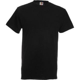 T-Shirt FotL Heavy Cotton T, schwarz, inkl. Brustlogo 1-farbig, grün 10 cm