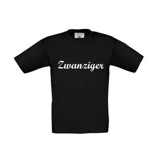 Kinder T-Shirt, inkl. zwanziger Logo