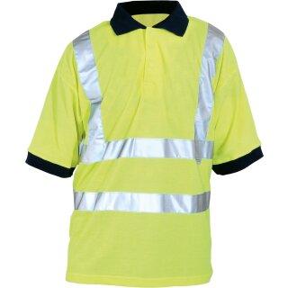 Warnschutz-Poloshirt neongelb