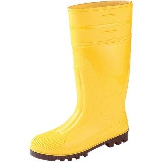 PVC-Sicherheitsstiefel gelb, EN20345 S5,