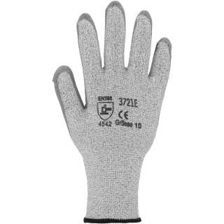 Schnittschutzhandschuh Stufe 5,PU Beschichtung grau, eco