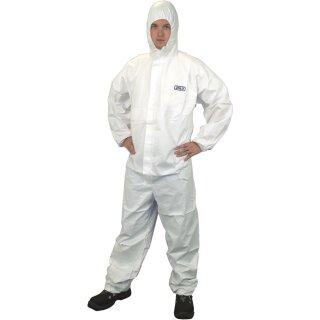 ProSafe 2 ® Chemieschutzoverall, weiß, Cat. 3, Typ 5+6